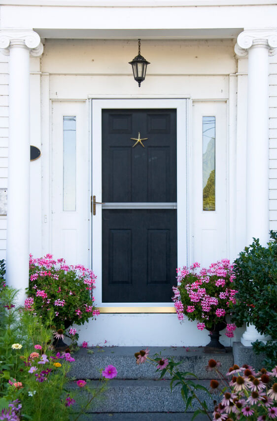 59 front door flower and plant ideas for Potted plants by front door