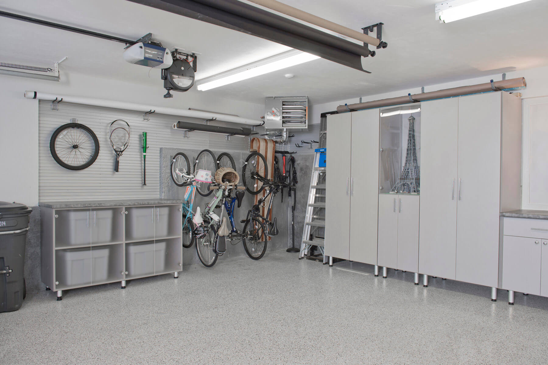 29 garage storage ideas plus 3 garage man caves for In ground garage