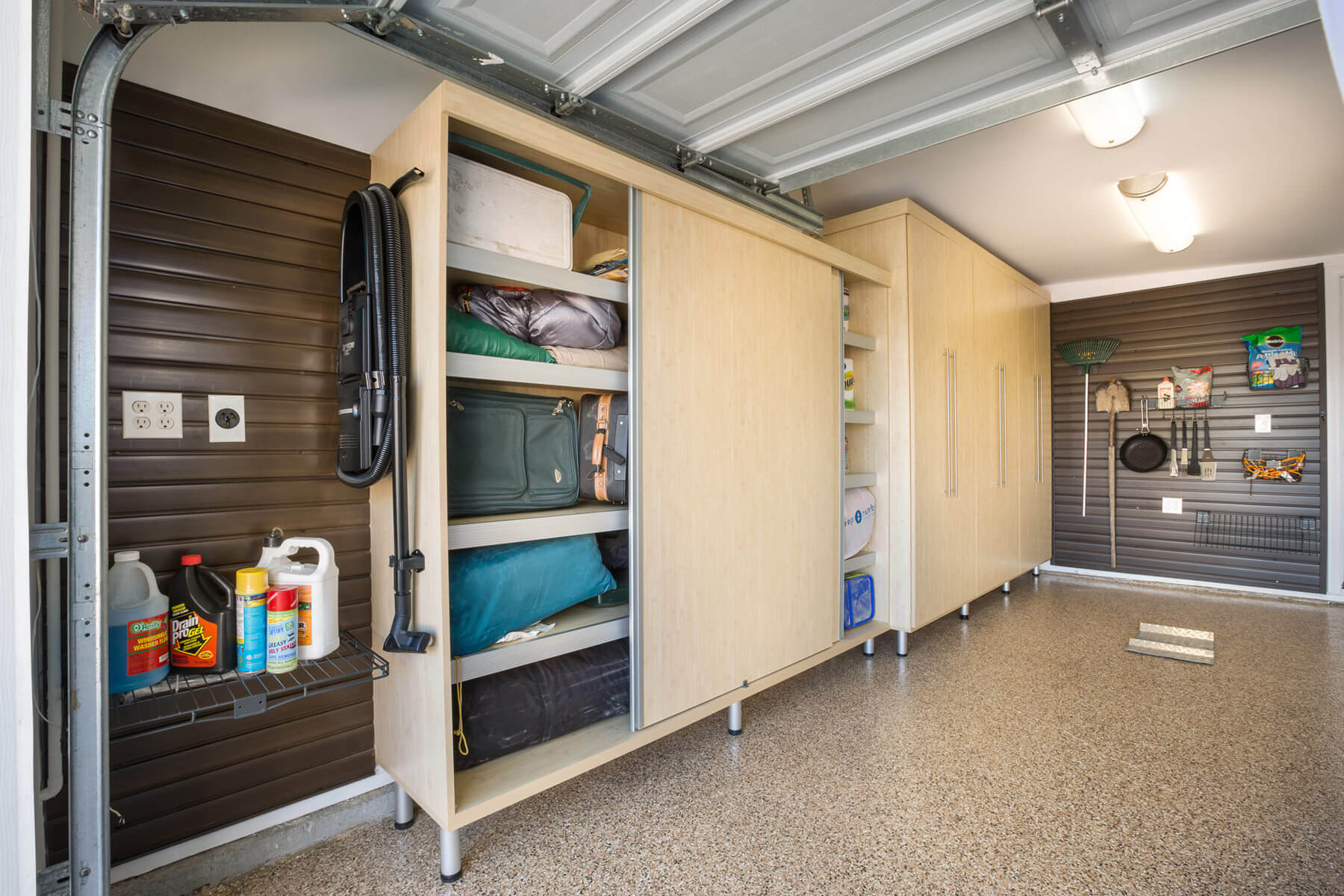 Side By Side Garage : Garage storage ideas plus man caves