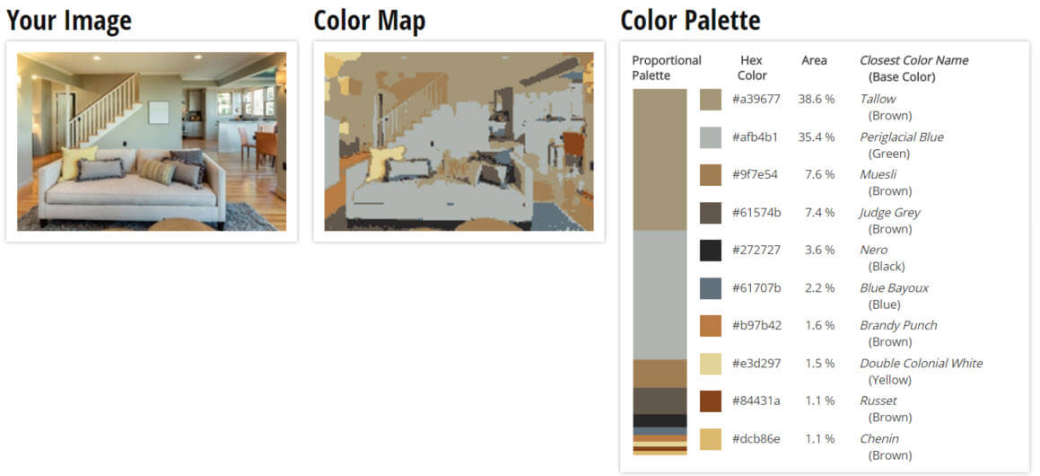 Use Color Palette For Green Brown And Grey Living Room Scheme