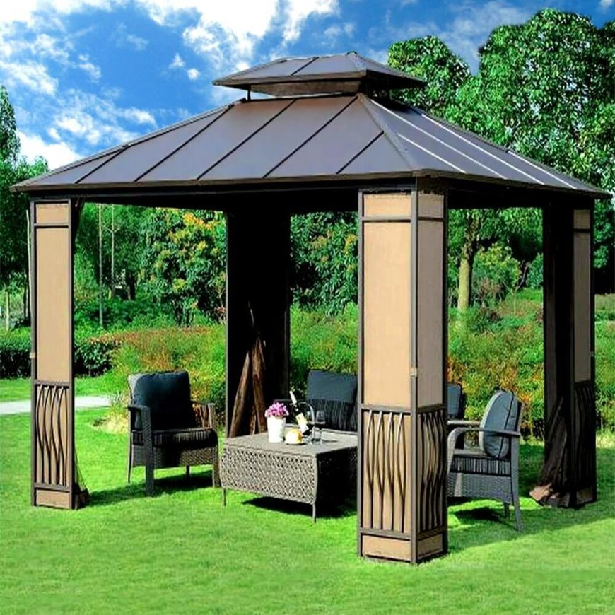 17 Handsome Budget Gazebo Designs