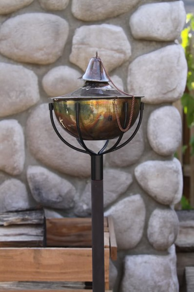 Planter Torch for Gardens and Yards