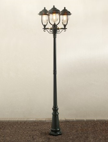 Post Lantern Set for Gardens and Yards