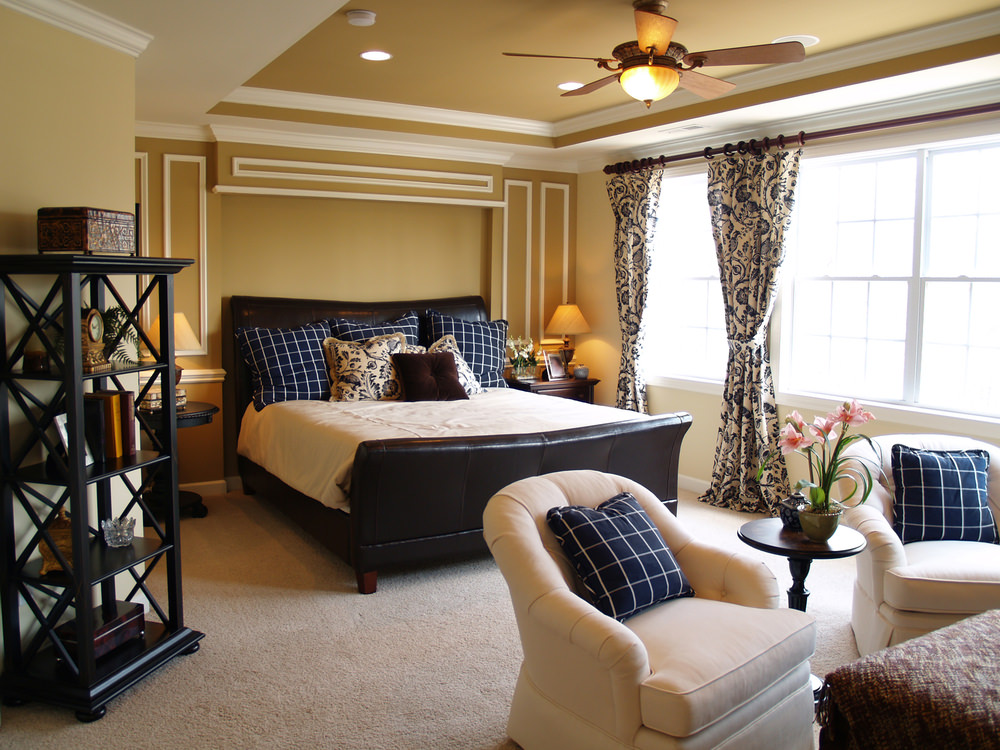 46 Master Bedrooms with a Sitting Area All the details and design well  point that this