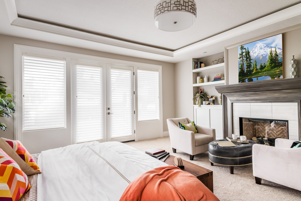 Using blinds to maintain the privacy of personal space is great idea. With these blinds you will not loose the light so much needed, and you yet will keep your privacy to your self.