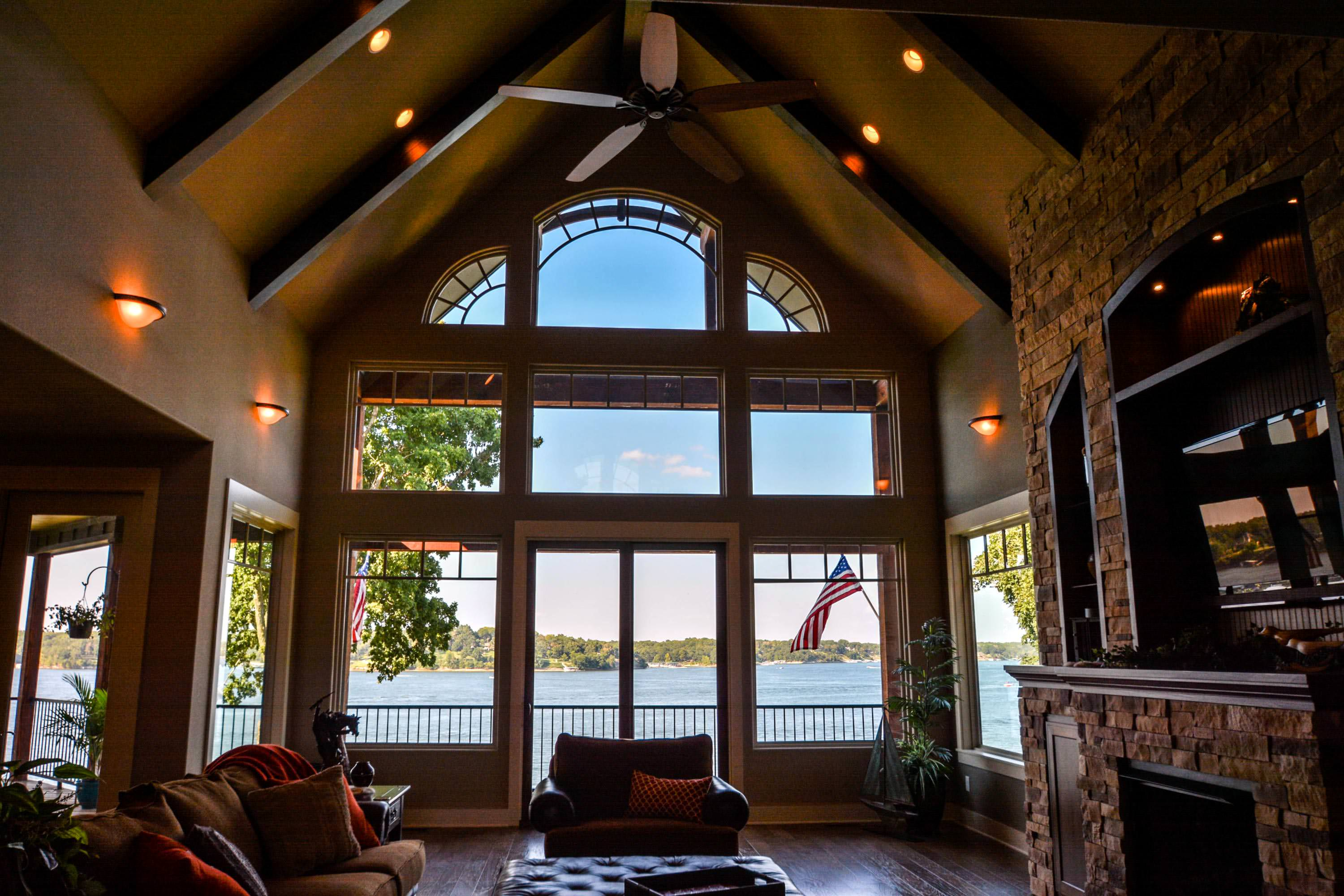 ranch with vaulted ceilings open floor plan best home