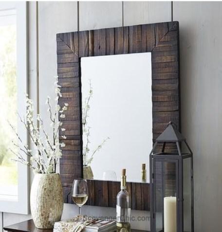 diy pallet wood mirror (step-by-step tutorial)