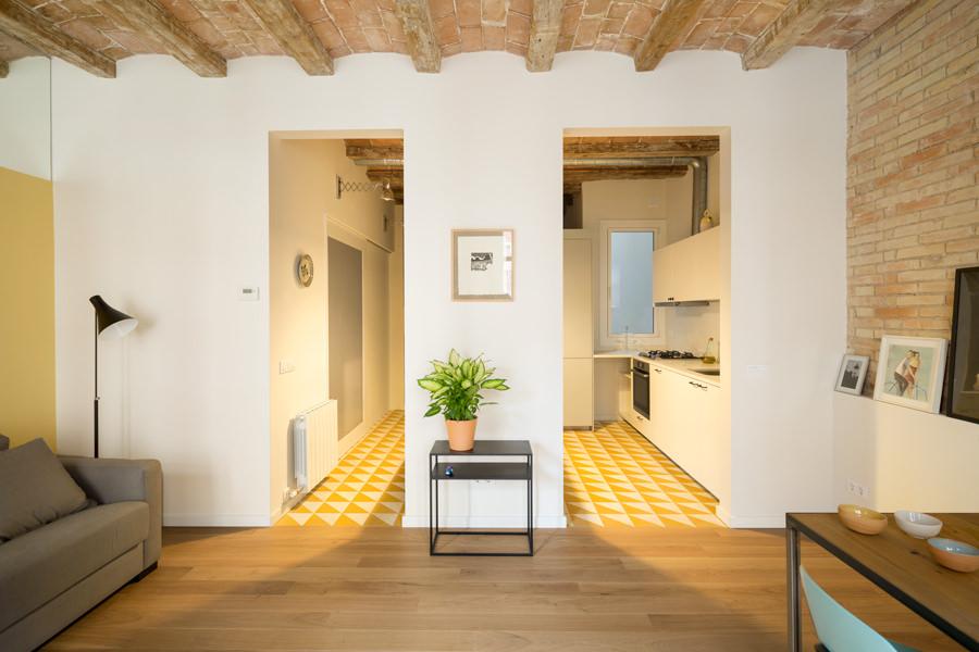 Rustic Bright Contemporary Home Design In Spain