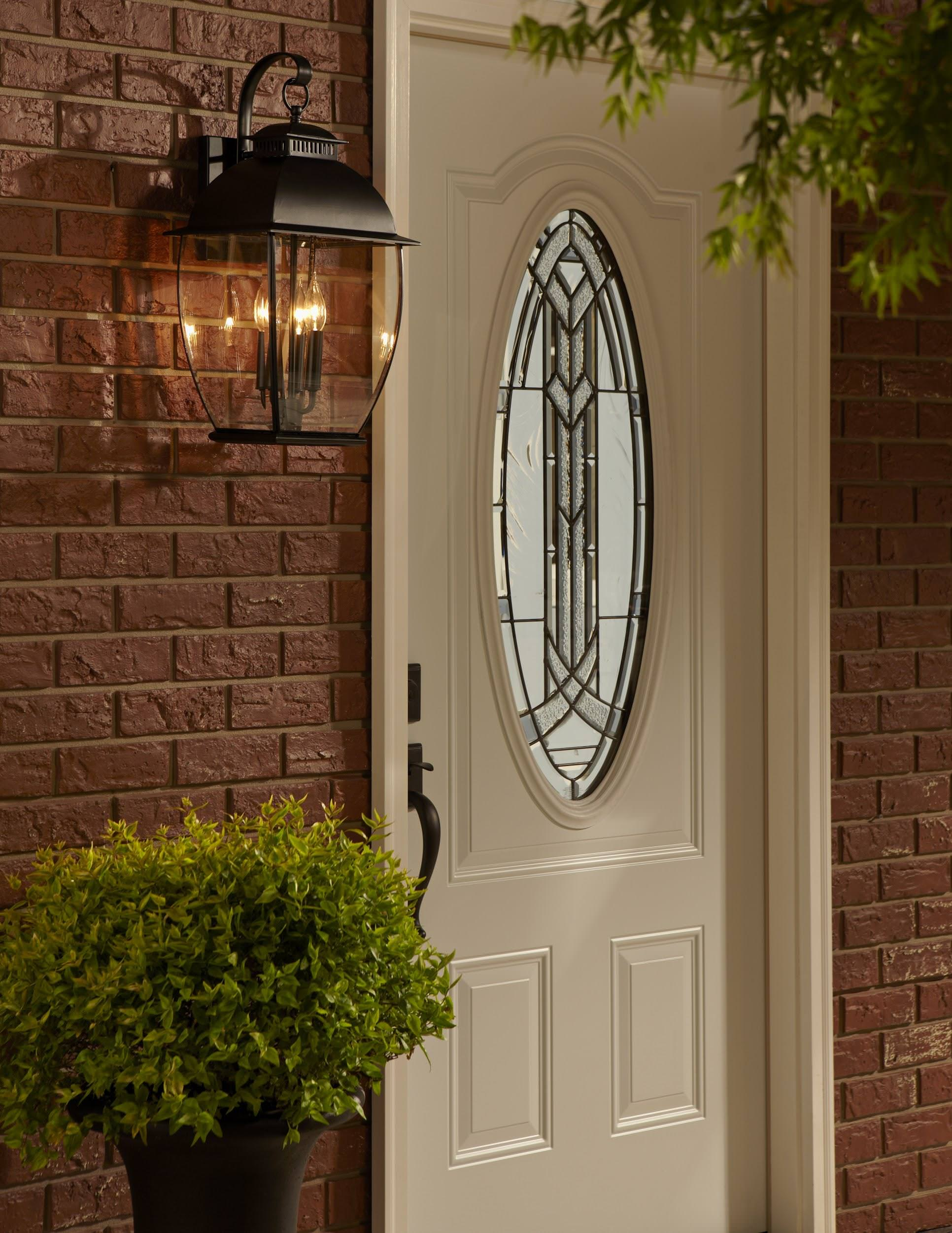 9 types of outdoor lights for your home for Door with light