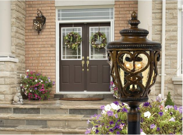 9-front-yard-light-post
