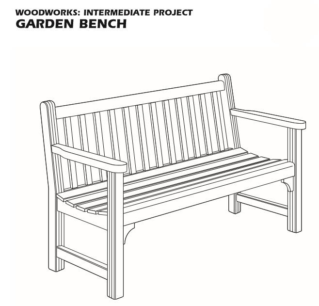 Teds Garden Bench Plan