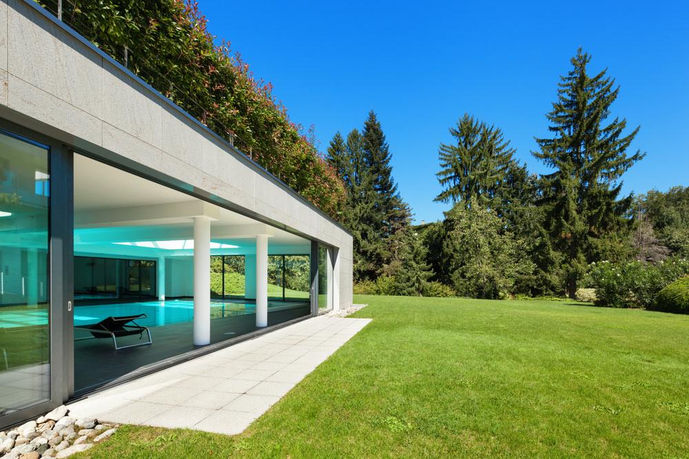 Concrete Home Exterior