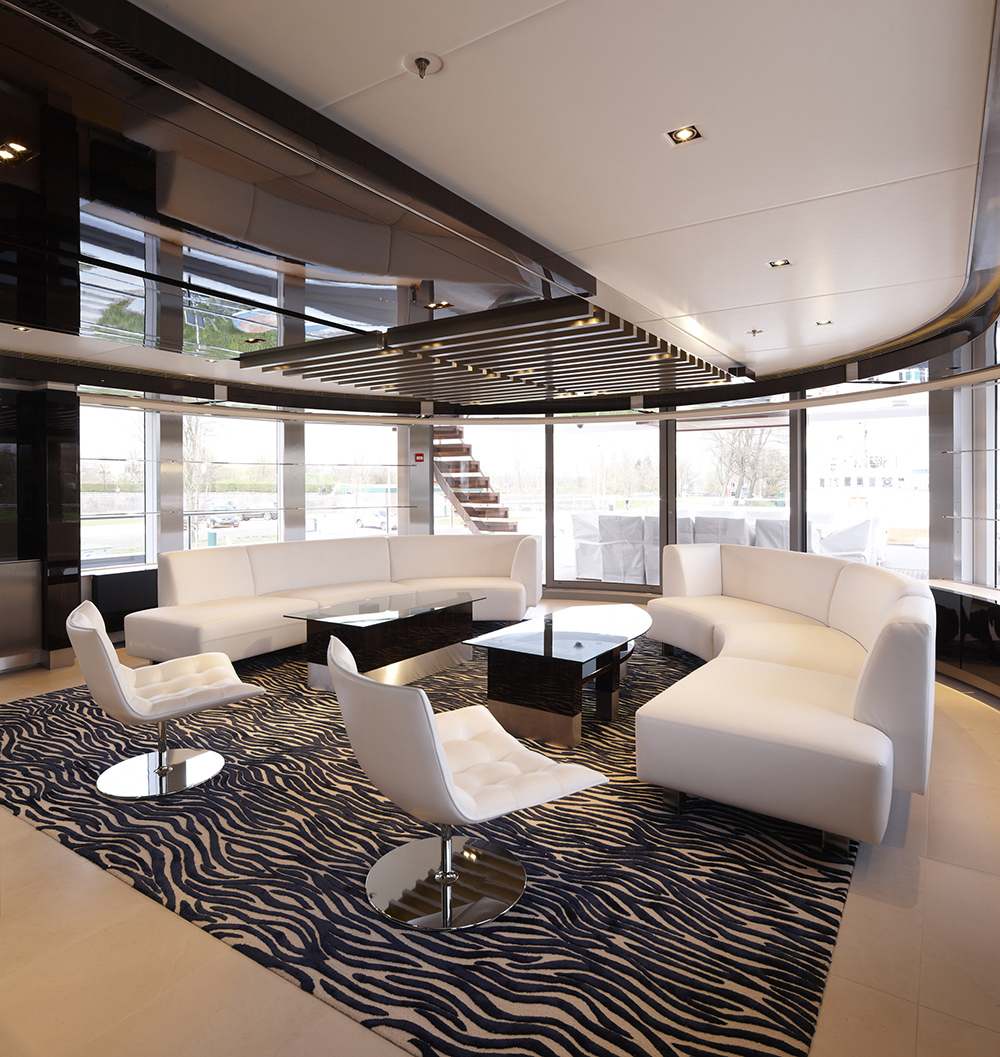 Yacht Interior Design Gorgeous Mega Yacht Interior Designmojo Stumer Associates