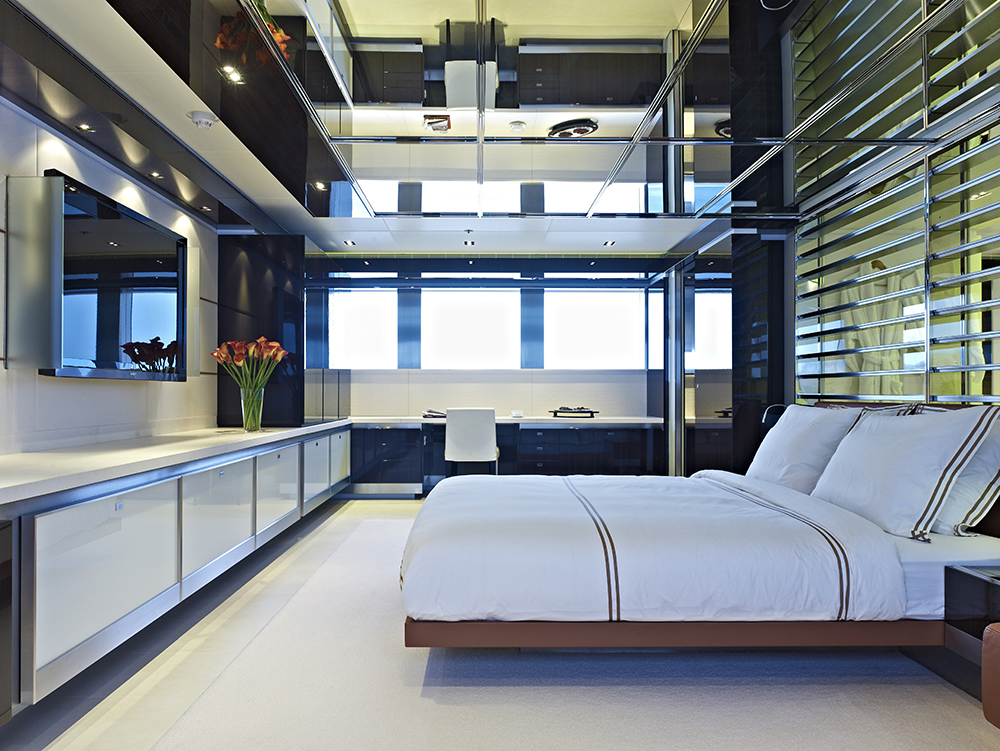 Gorgeous Mega Yacht Interior Design By Mojo Stumer Associates