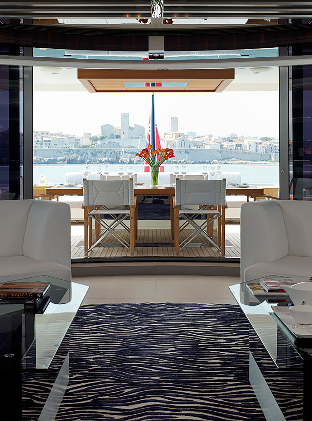 Gorgeous Mega Yacht Interior Design By Mojo Stumer Associates