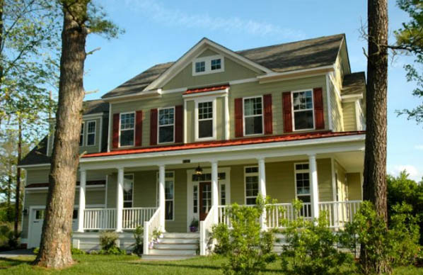 Colonial Home Architecture