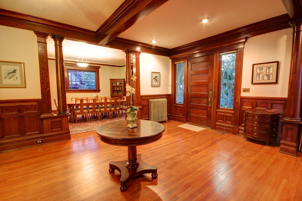 American foursquare interior design photos 2 homes Interior houses