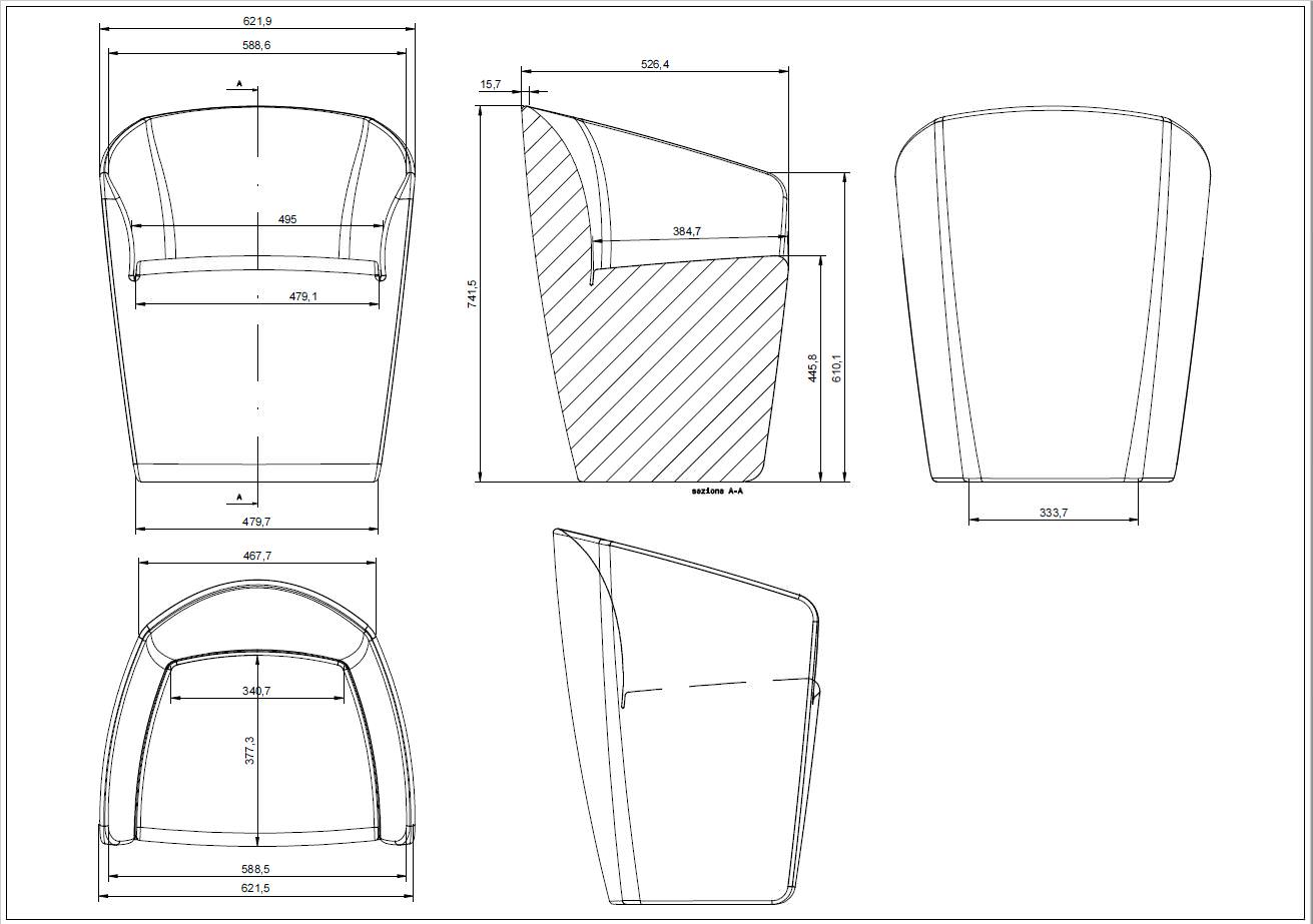egg chair blueprints