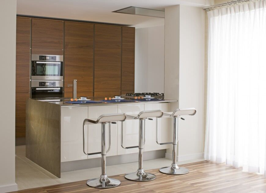 16 - Kitchens with Double Wall Ovens - Roselind Wilson Design CornwallPenthouse
