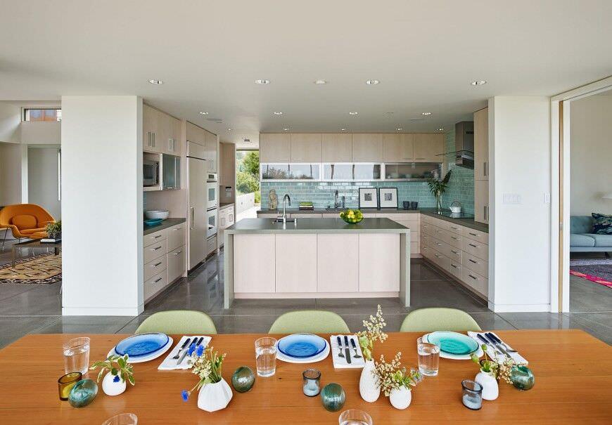 44 Küchen Mit Doppelter Wand Öfen (Foto-Beispiele) – Home Deko
