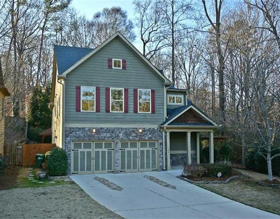 NW Atlanta Home with a Backyard to Die For