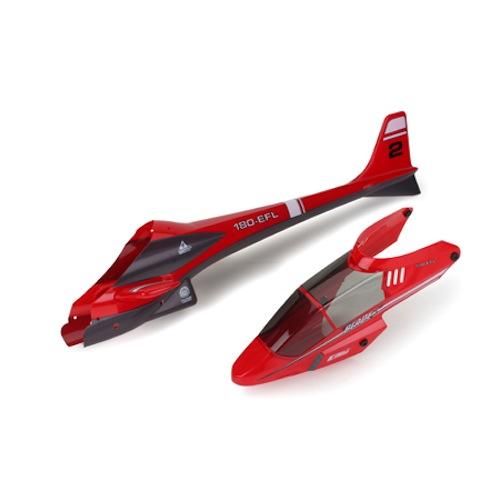 Elicottero E Flite Blade Cx2 : E flite eflh complete heli body canopy blade cx new