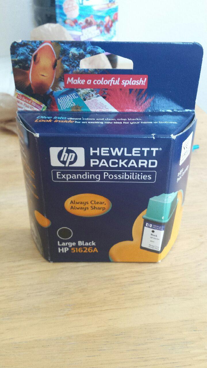 Hewlett Packard Large Black HP 51626A
