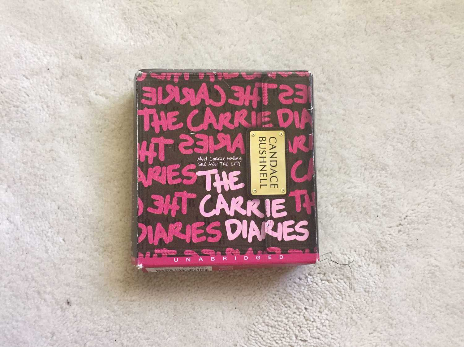 The Carrie Diaries audio book