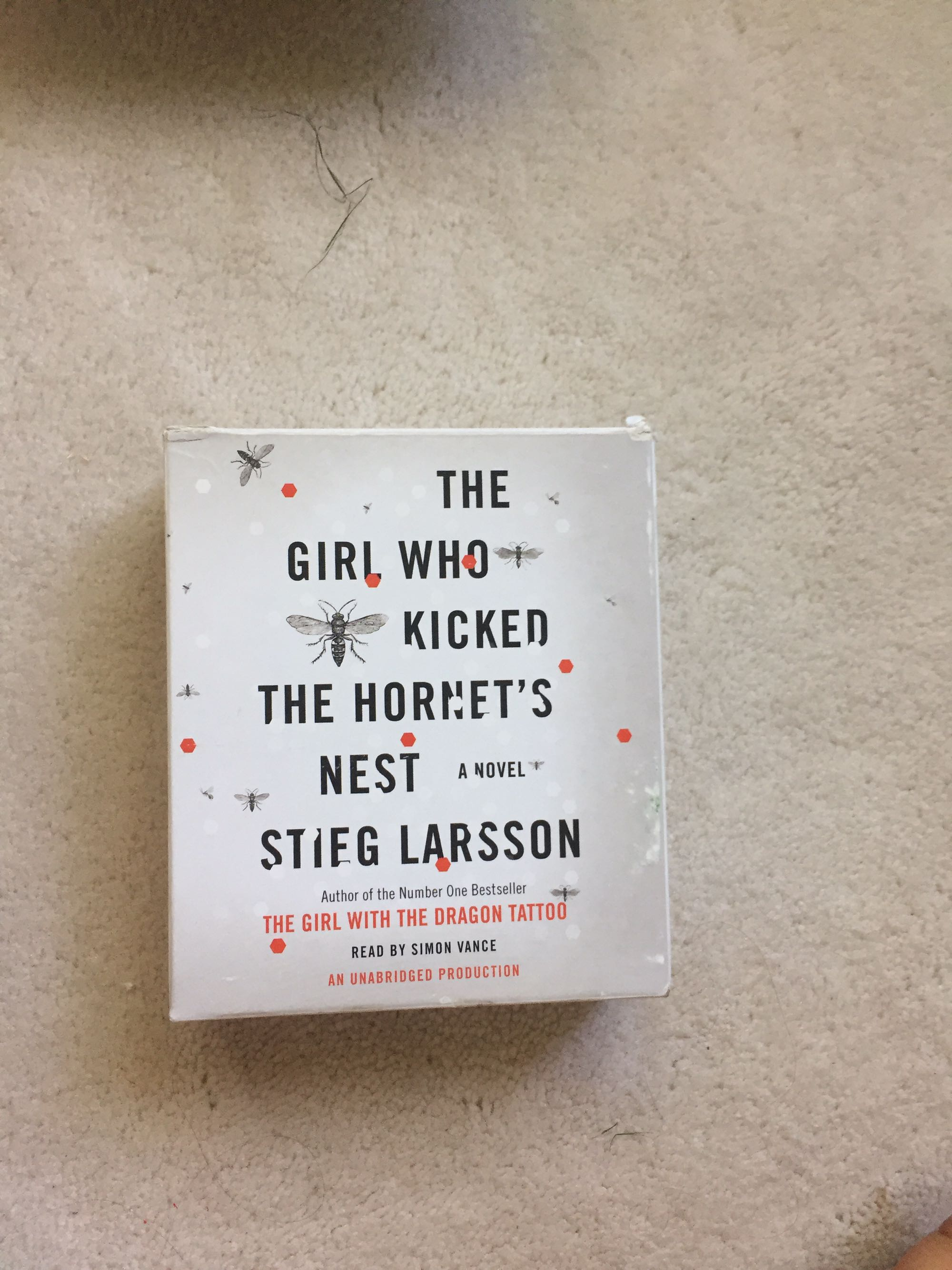 The Girl Who Kicked the Hornet's Neat audiobook