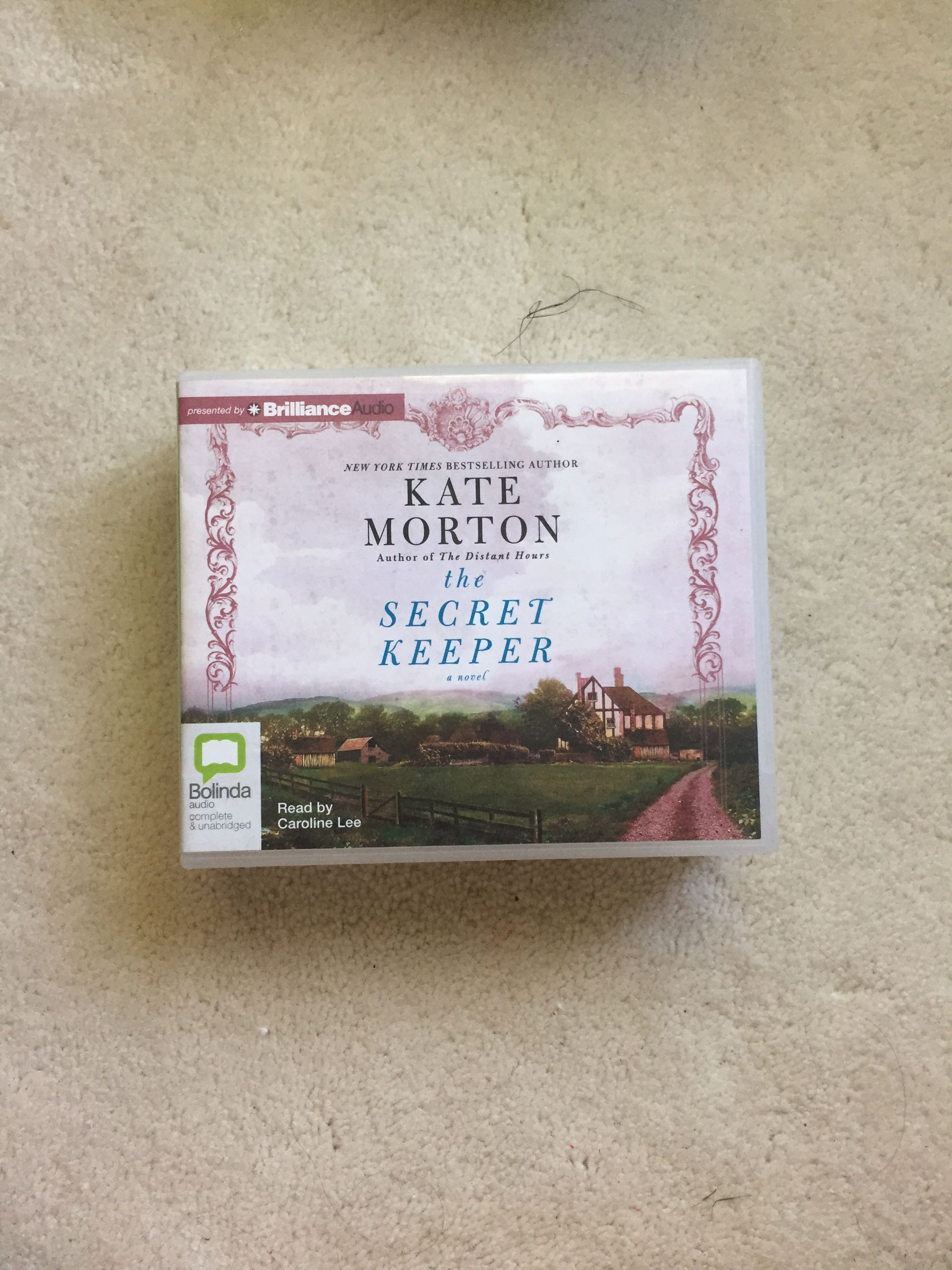 The Secret Keeper by Kate Morton audio book