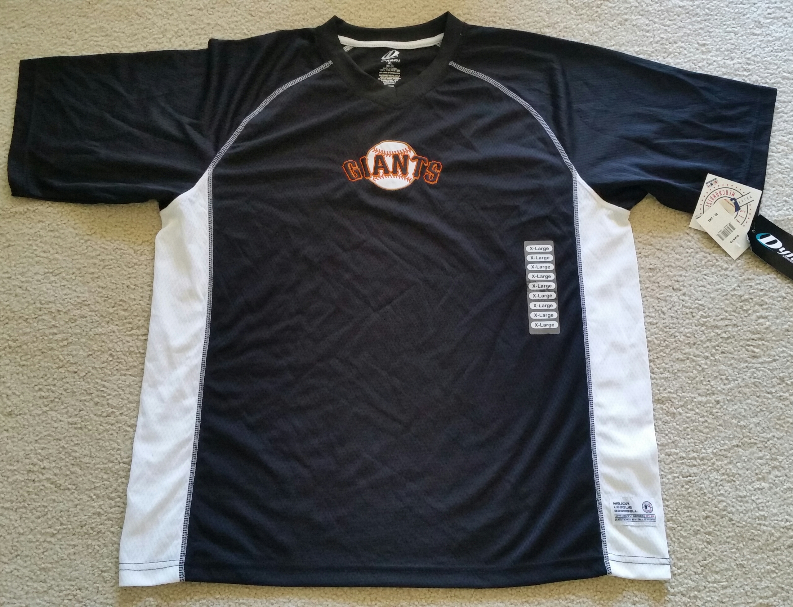 081601102 New with Tags SF Giants Size XL - $30