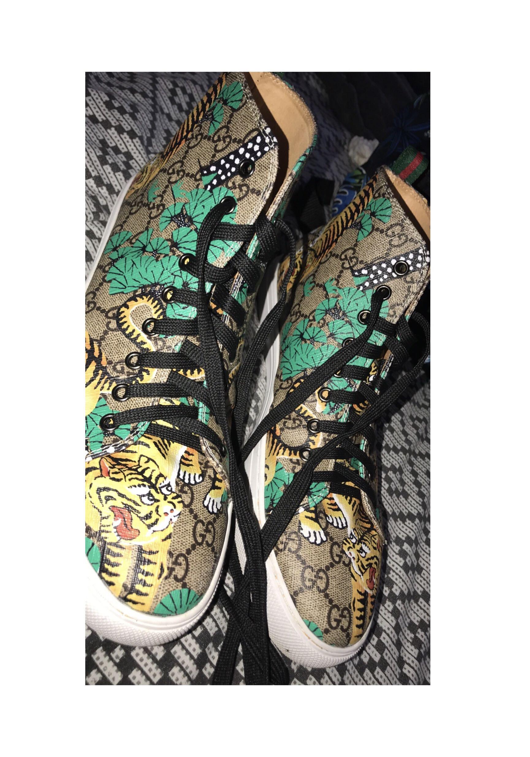 Gucci Bengal Shoes 9.5 UK
