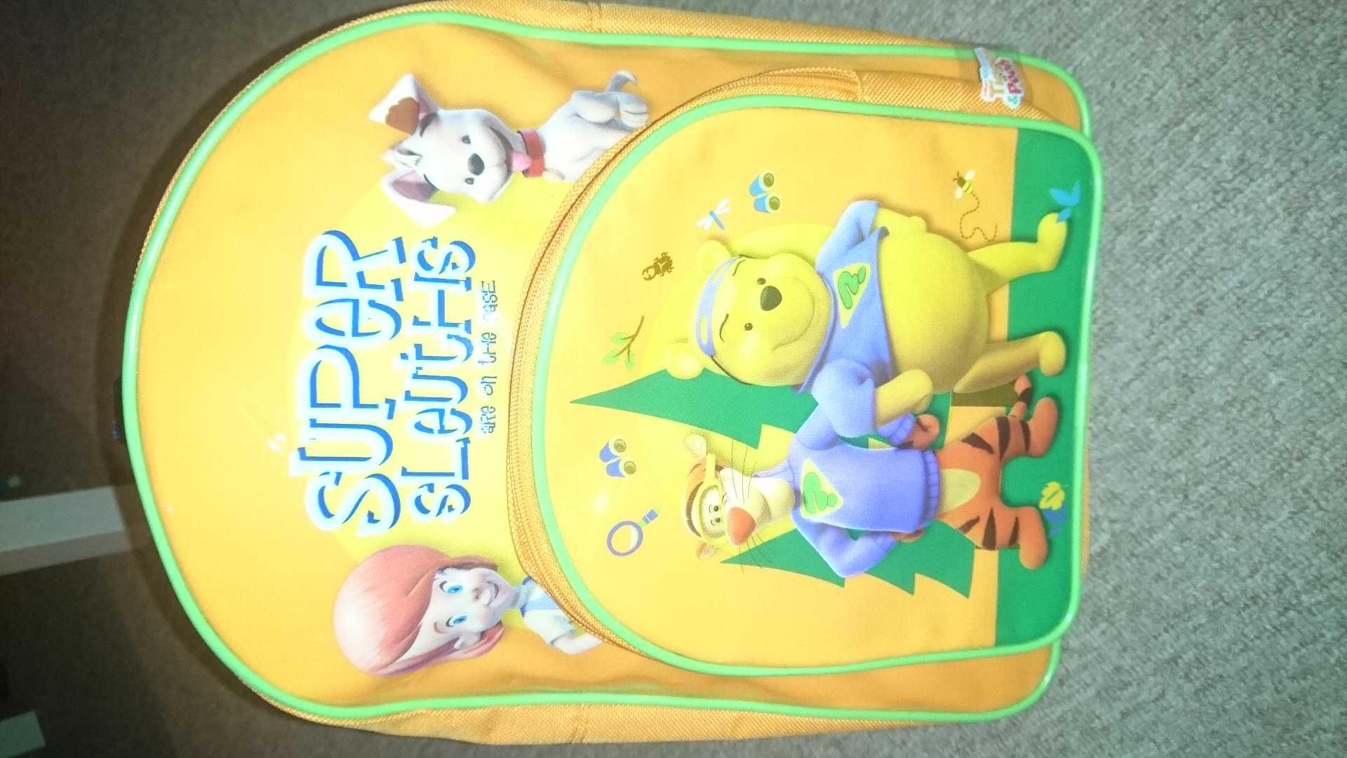 Tigger and pooh backpack