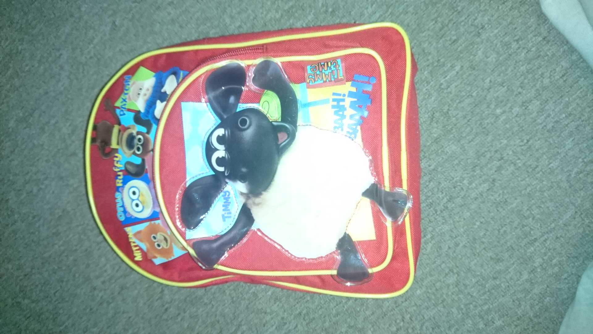 Timmy time backpack