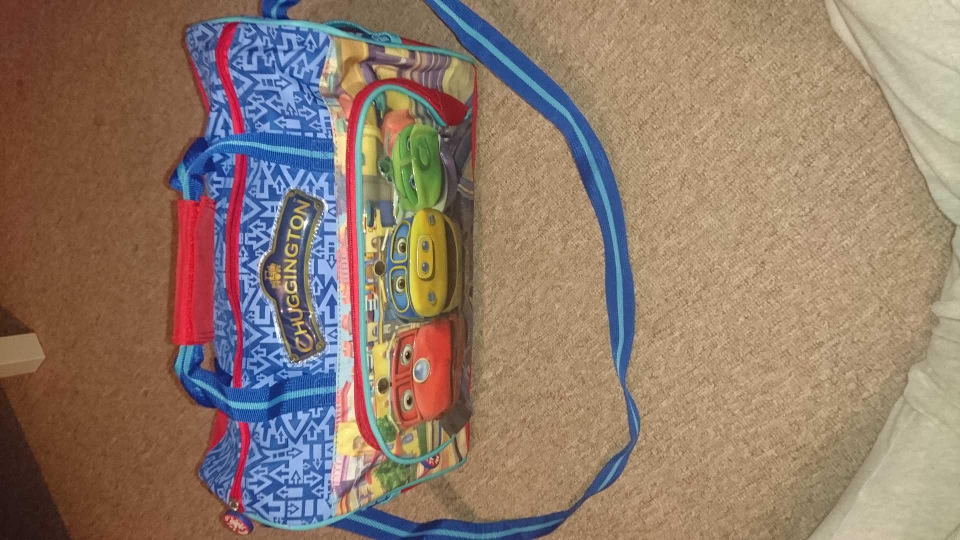 Chuggington travel bag