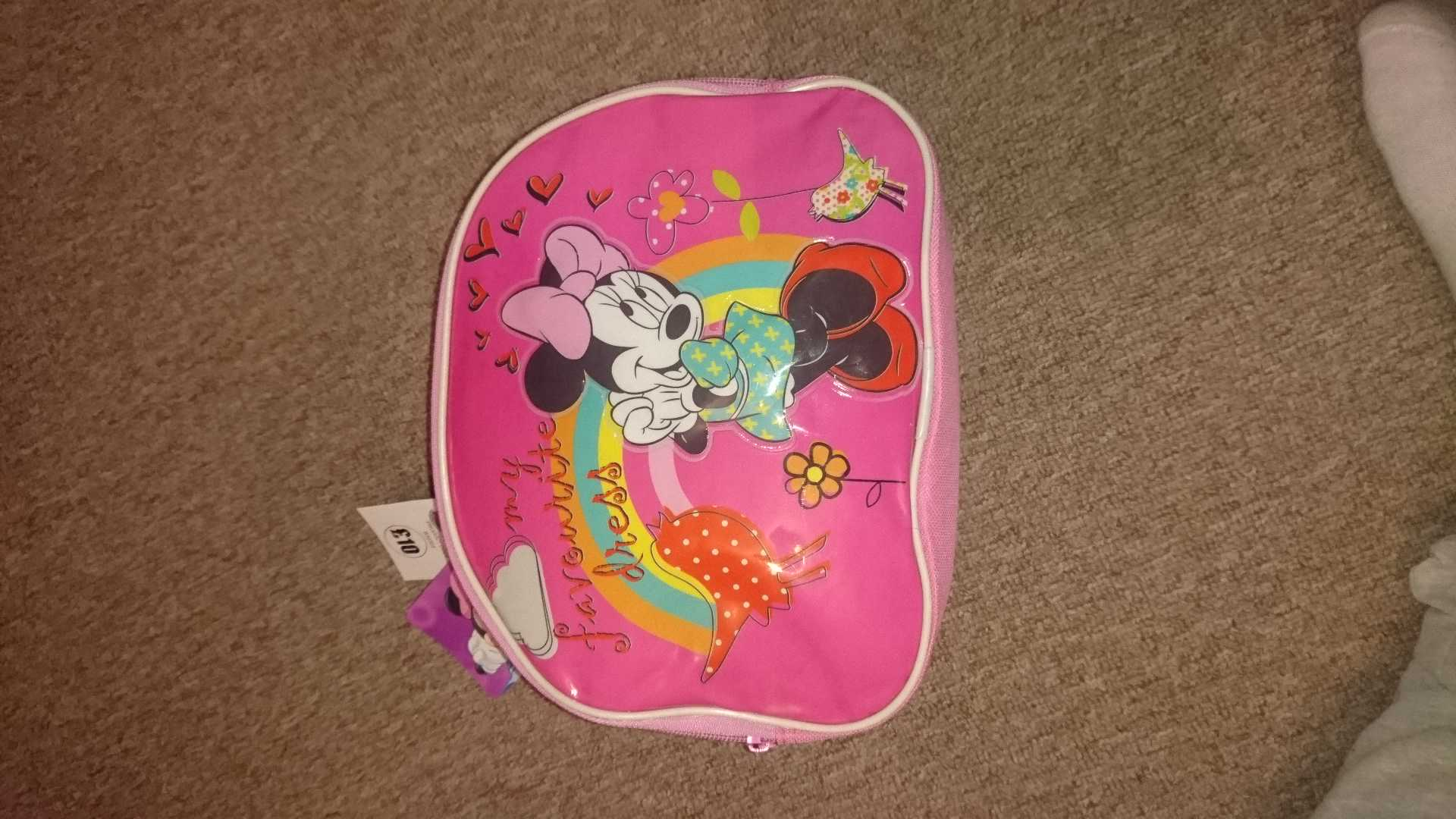 Minnie mouse lunchbag