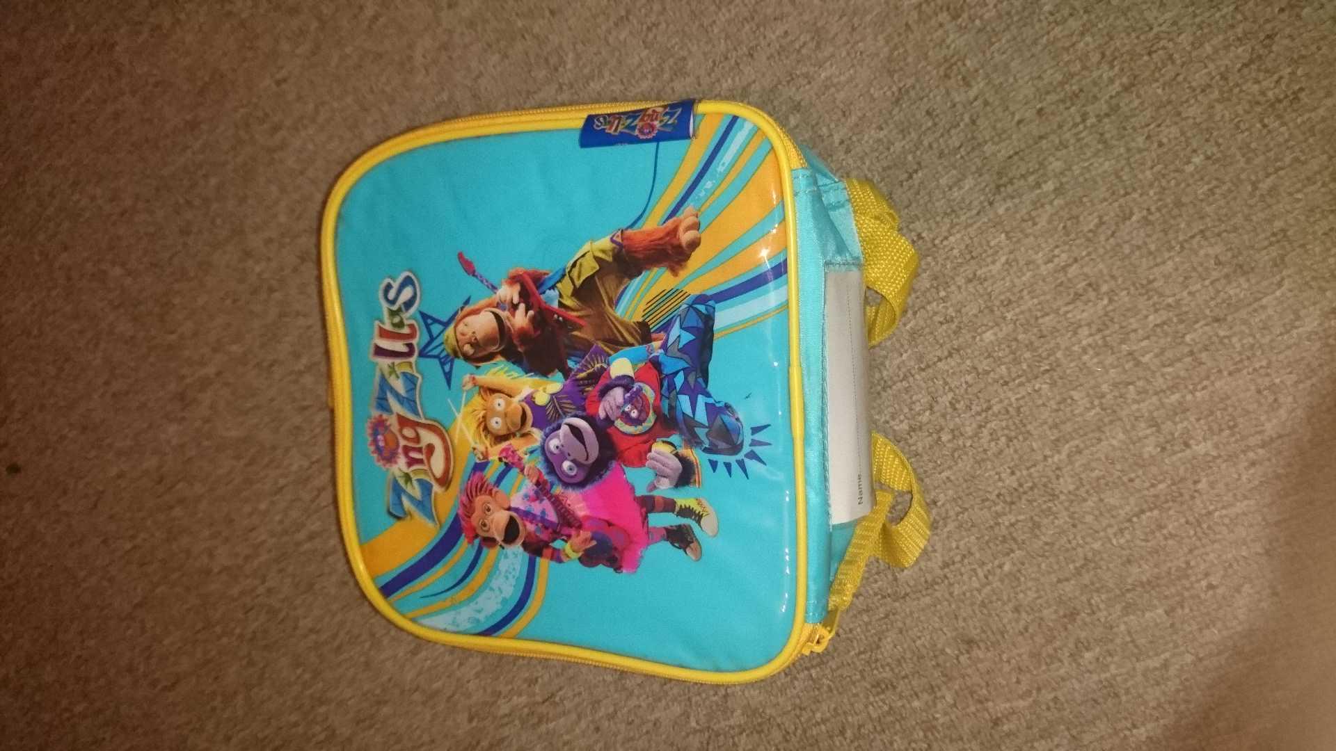 Zing zillas lunch bag