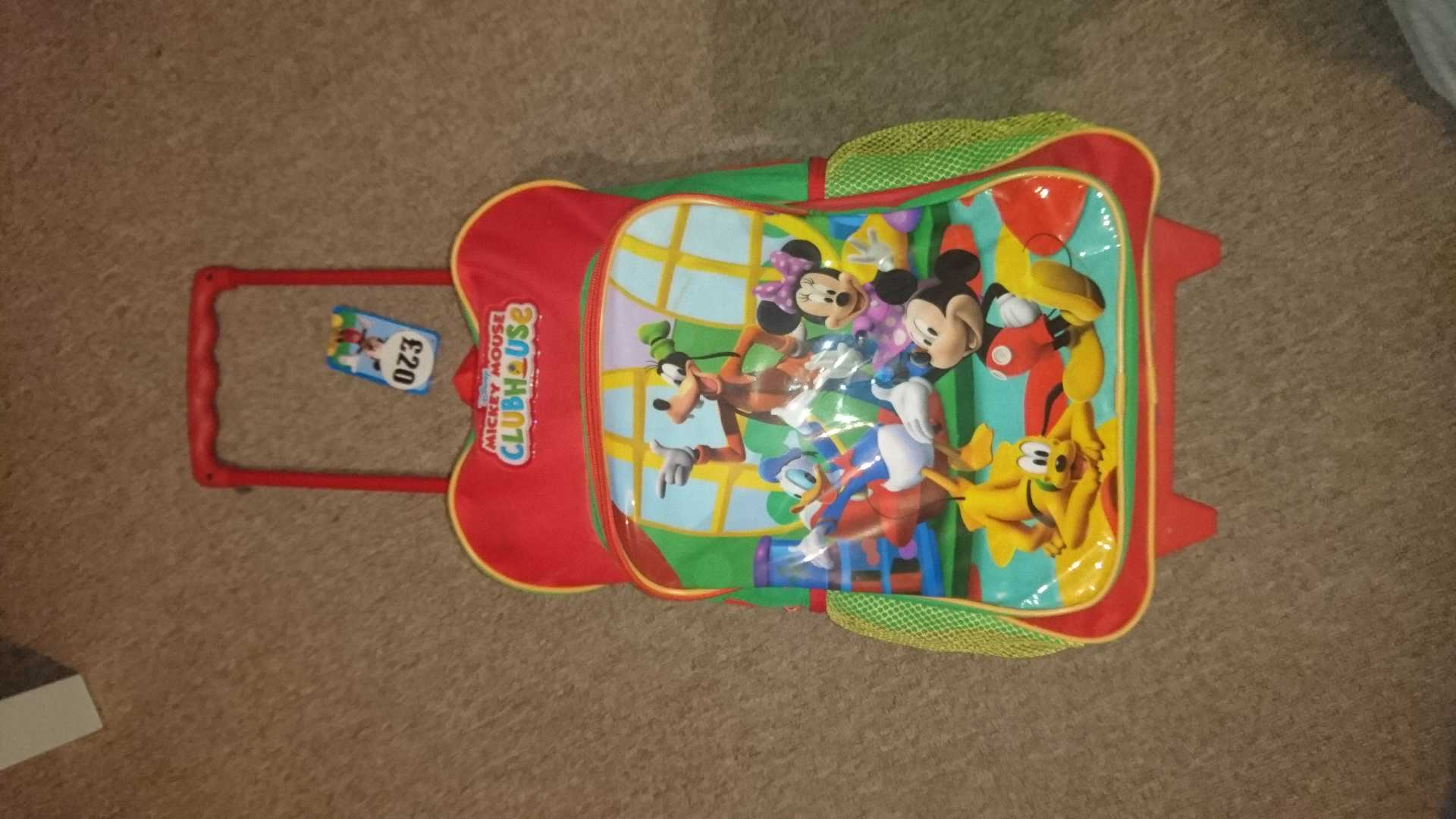 Micky mouse travel bag
