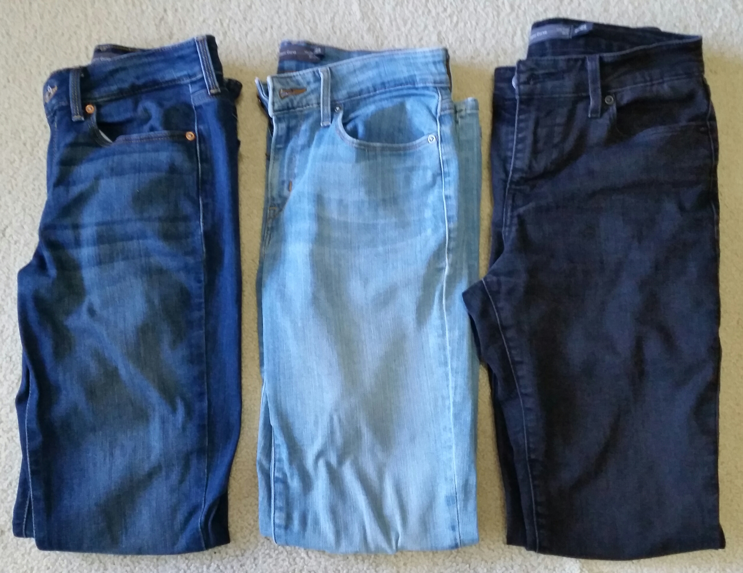 3 Pre-Owned Women's Levis Demi Curve Mid Rise Slim Stretch Jeans - $40