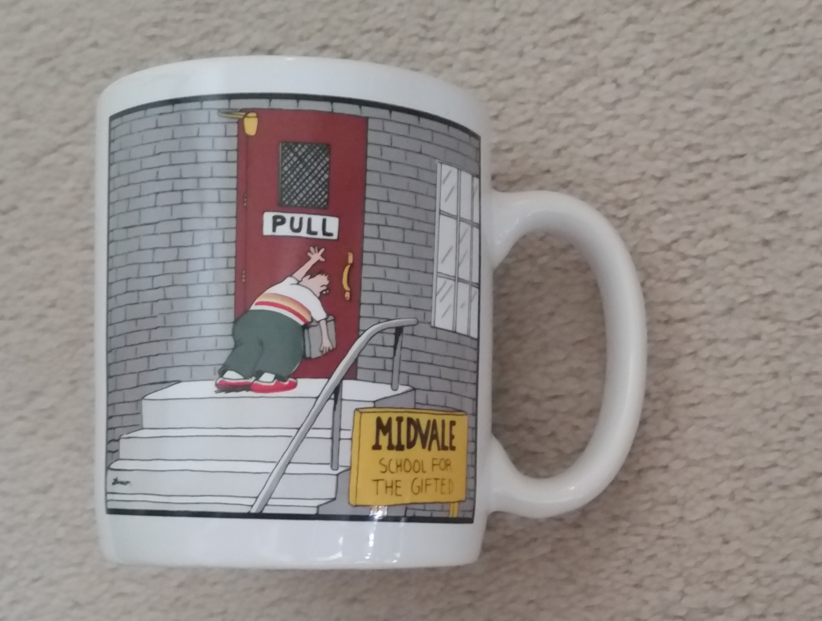 091700221 Vintage 1986 The Far Side Coffee Mug - $20