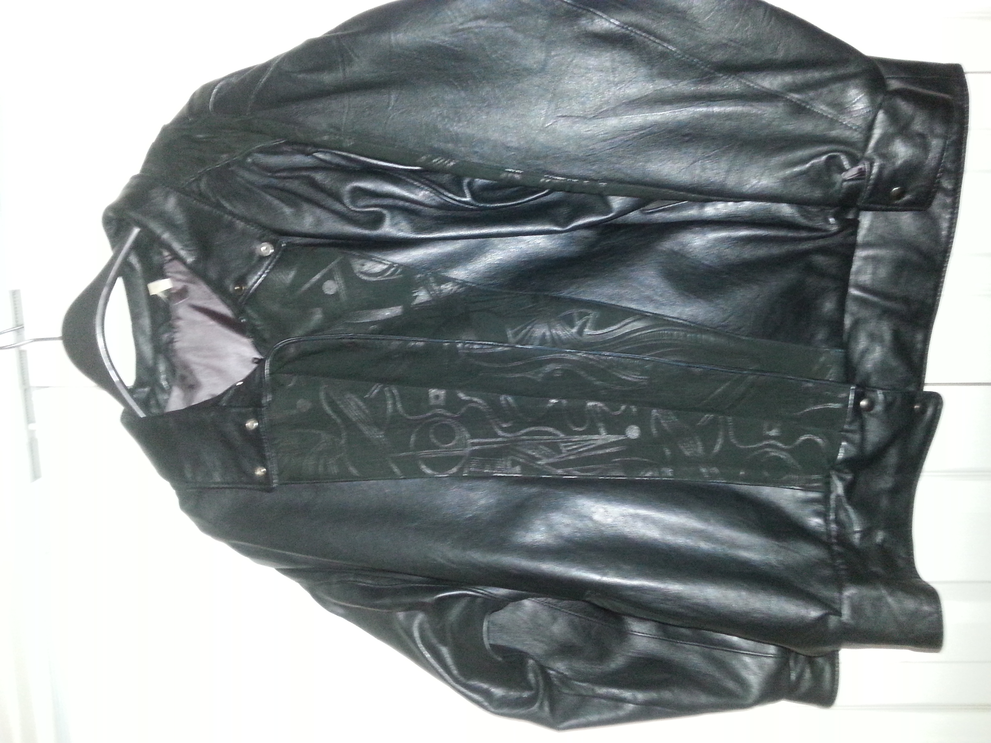 Leather and Swede jacket