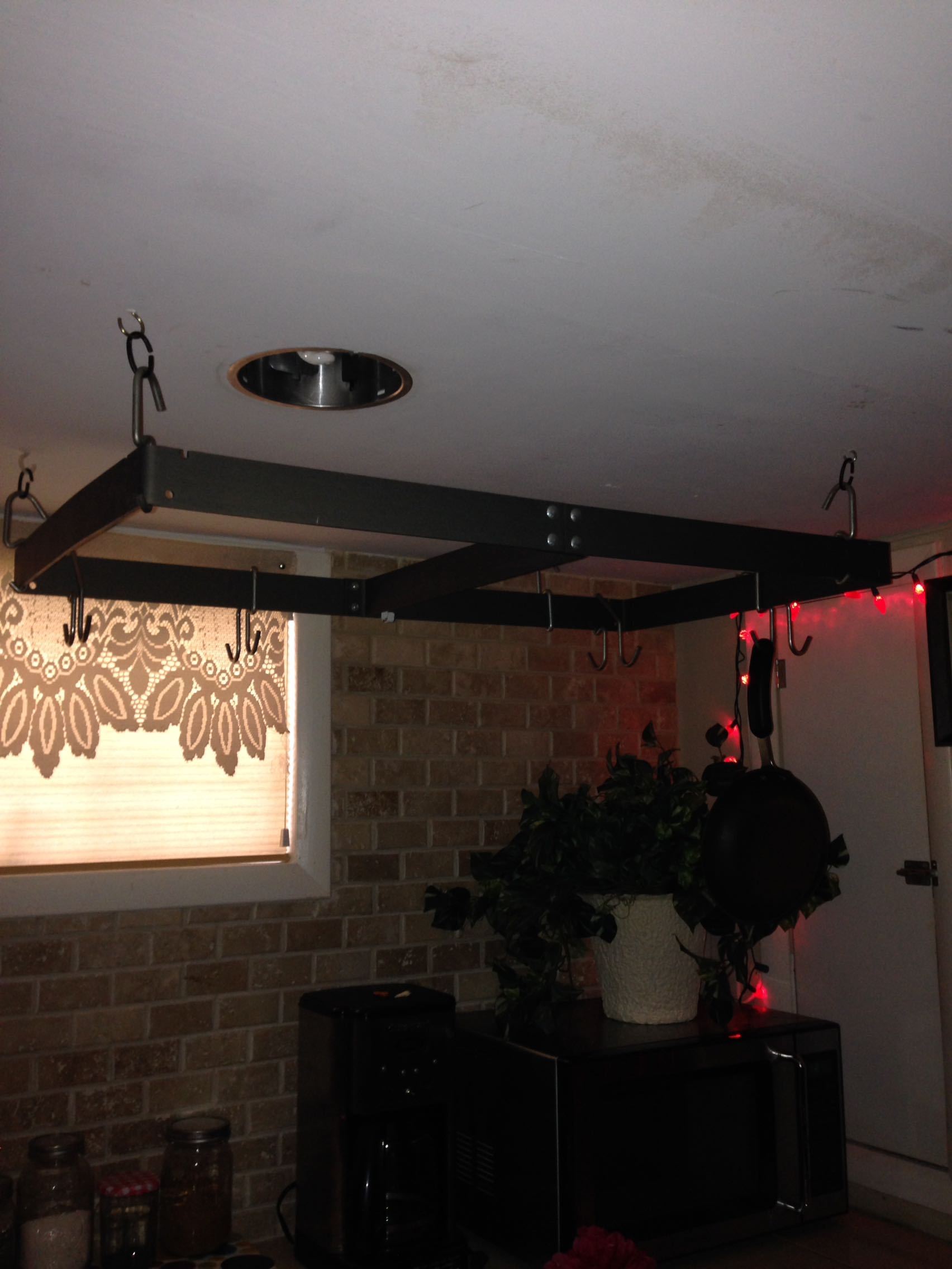 Ceiling Rack for Pots and Pans