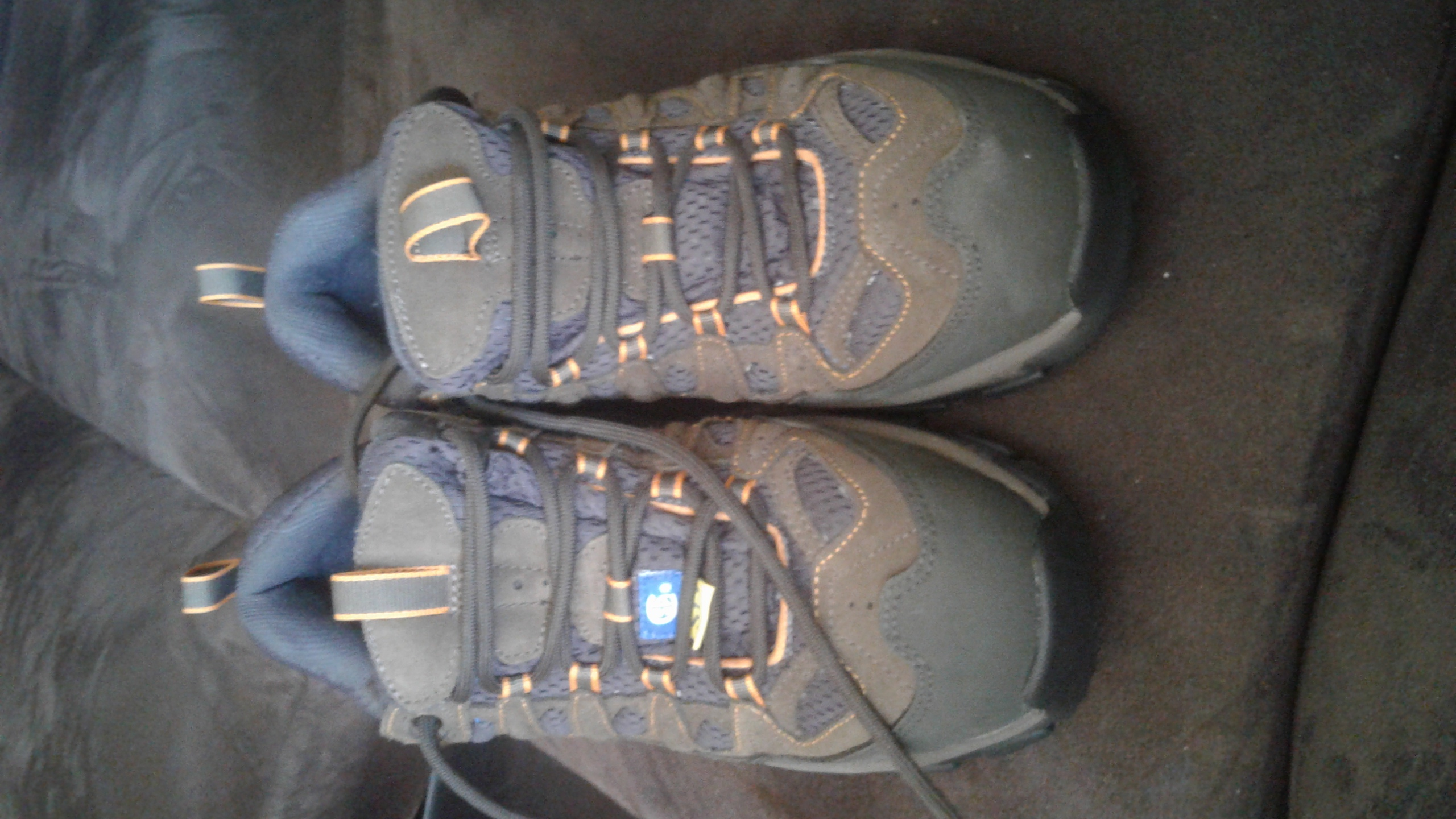 Mens brand new steel toe shoes