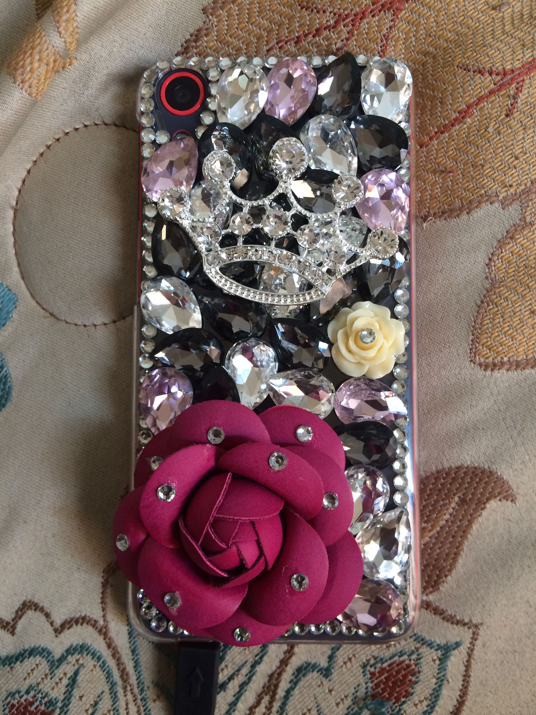 HTC 626s Gemstone Case