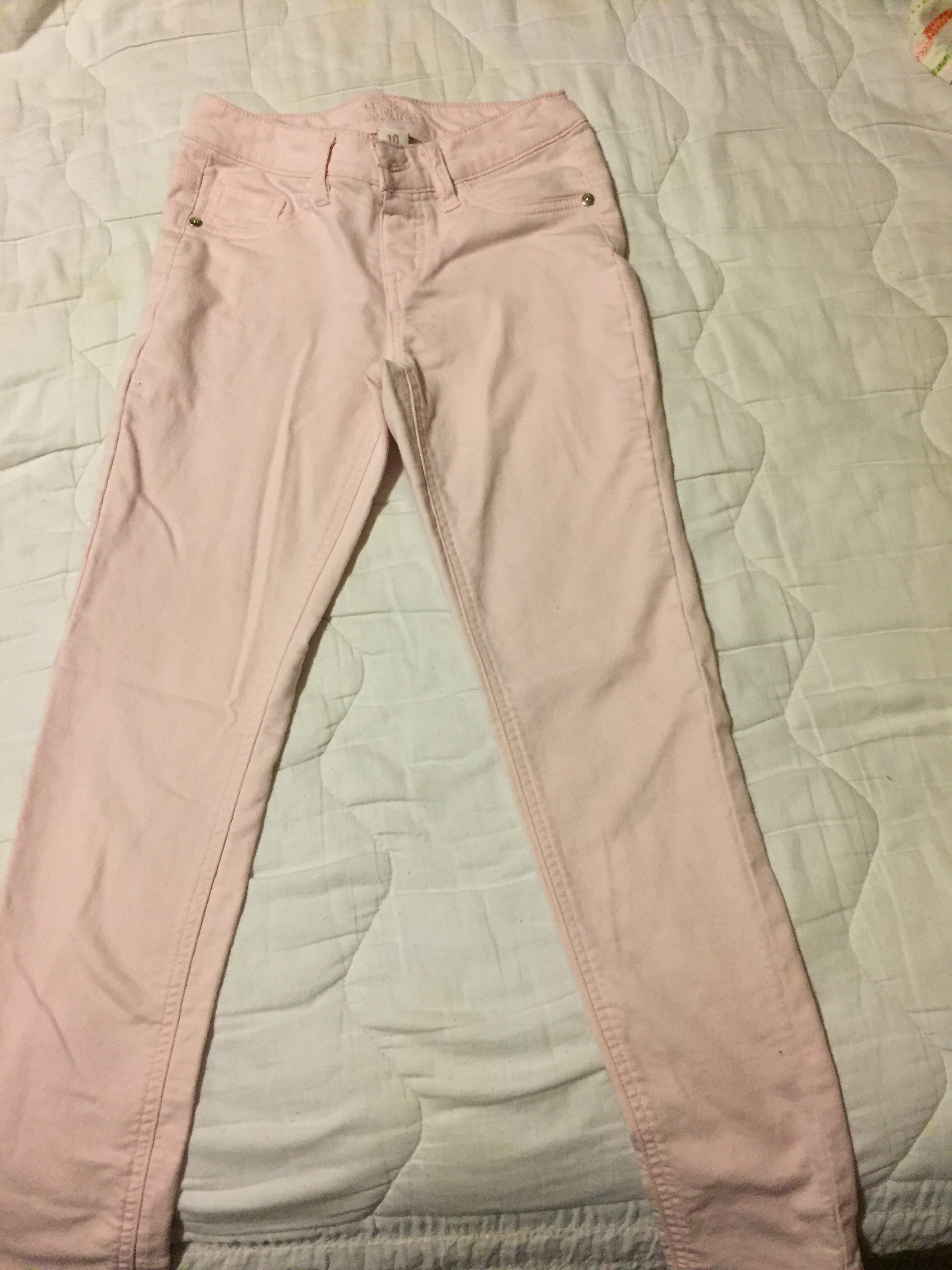 Justice - pink Jaggins Simply Low - Girls Size 10