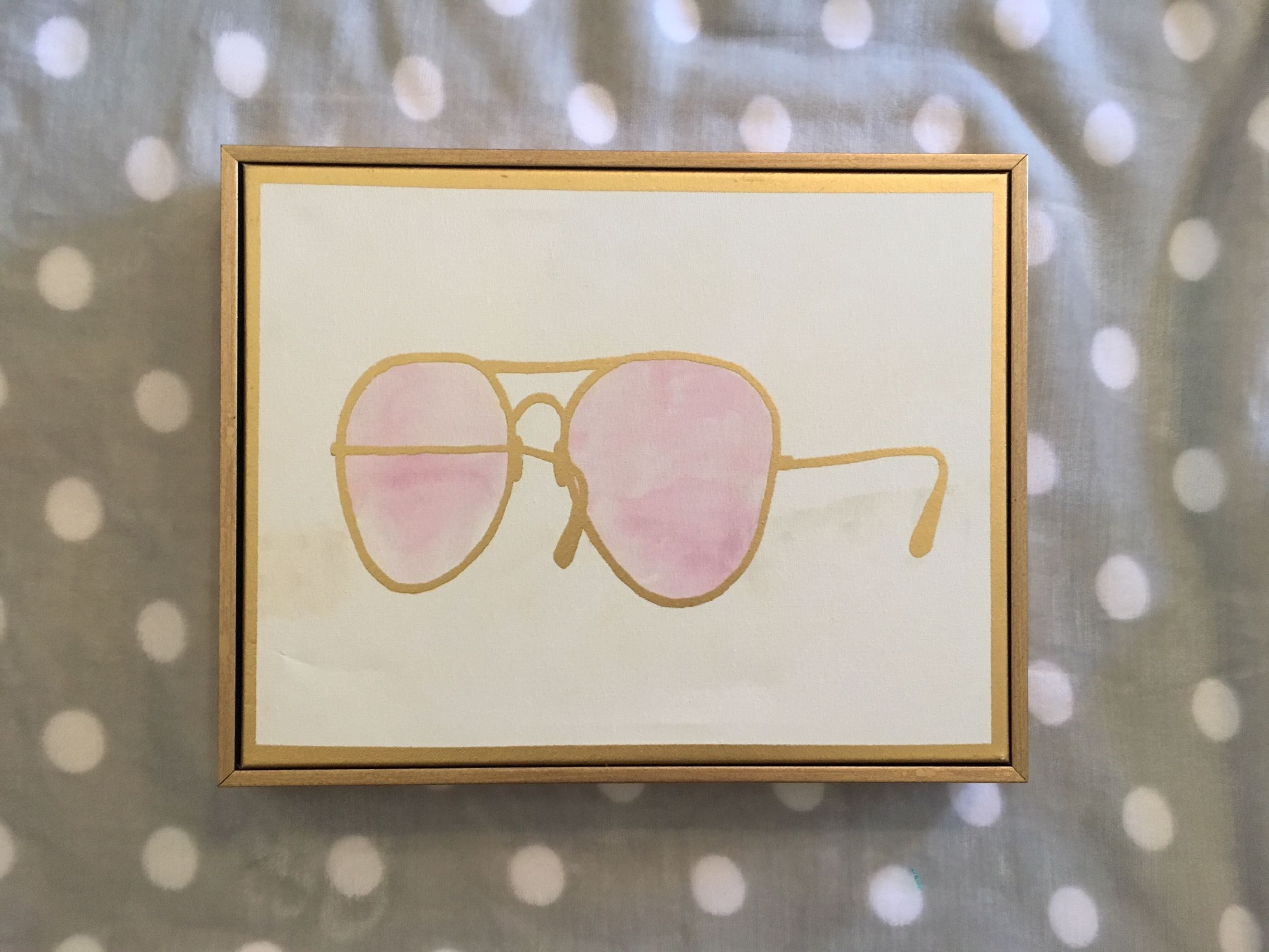 """""""Sunnies"""" Boxed Picture"""
