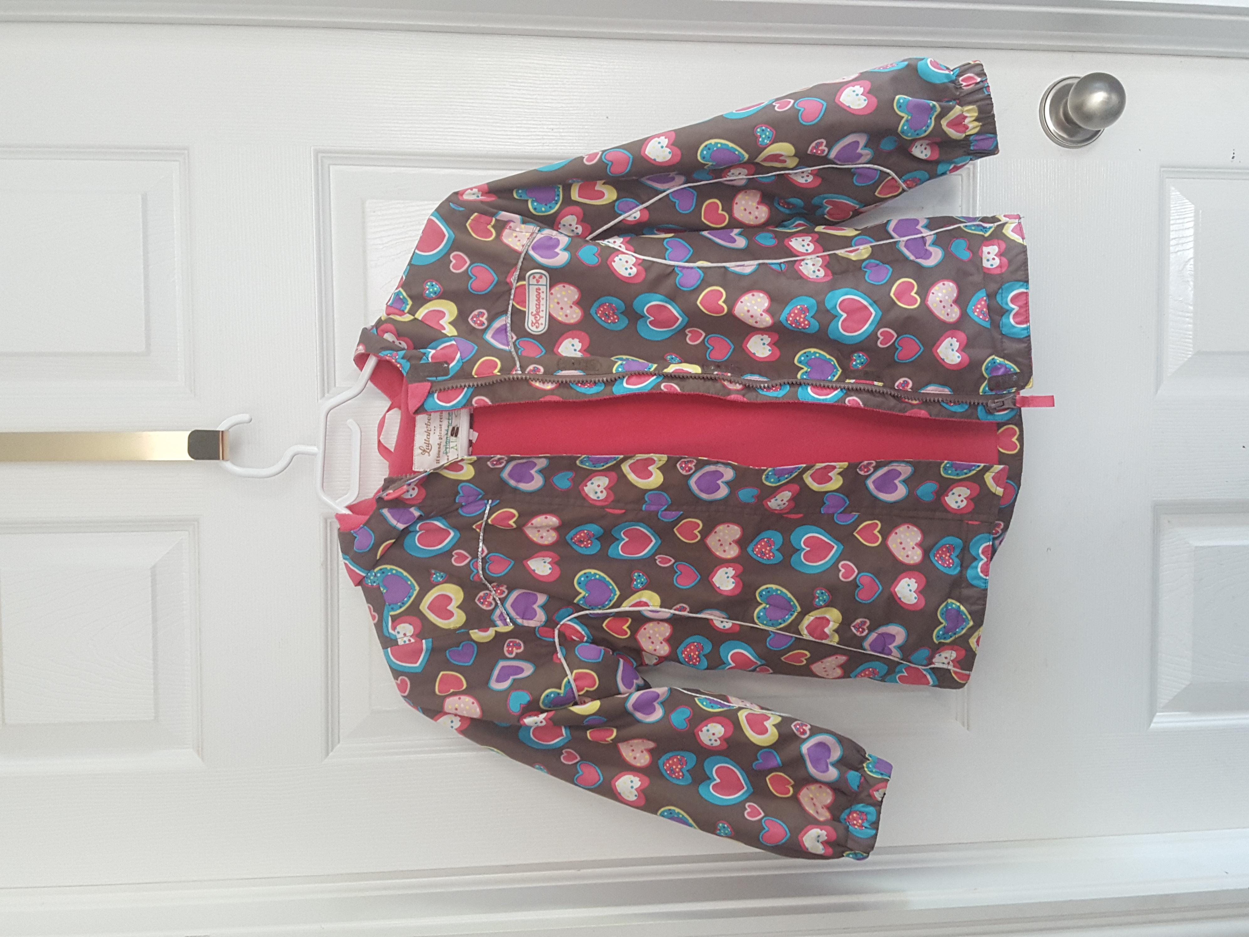 Raincoat with lining size 8-9
