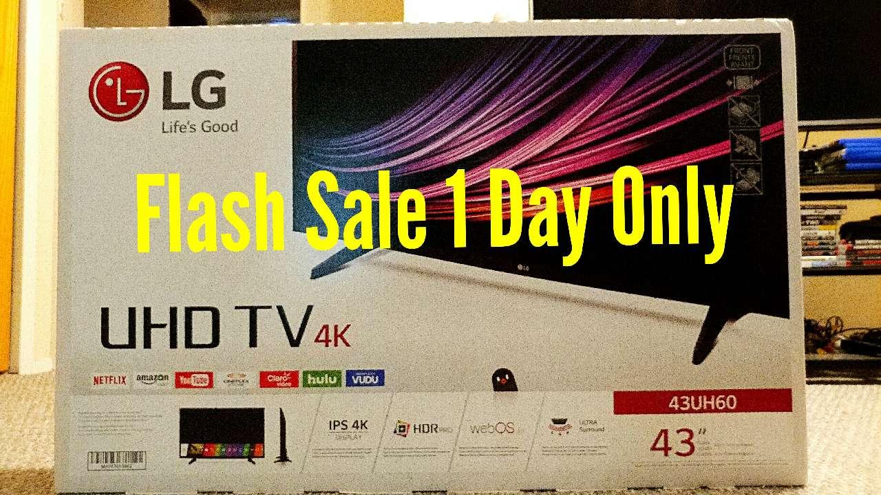 LG 4K UHD 43 inch Smart TV
