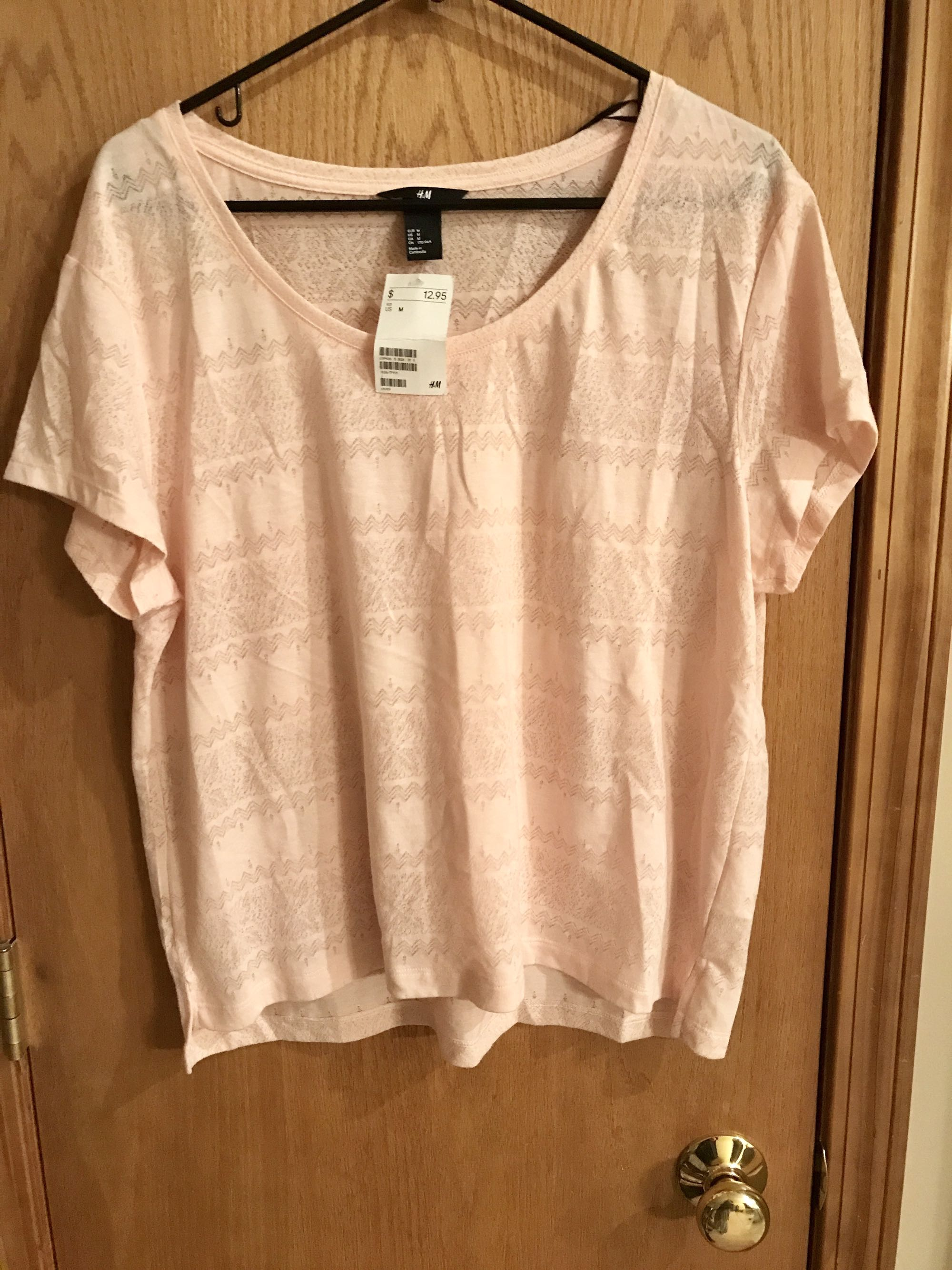 H&M brand top, new with tags, medium
