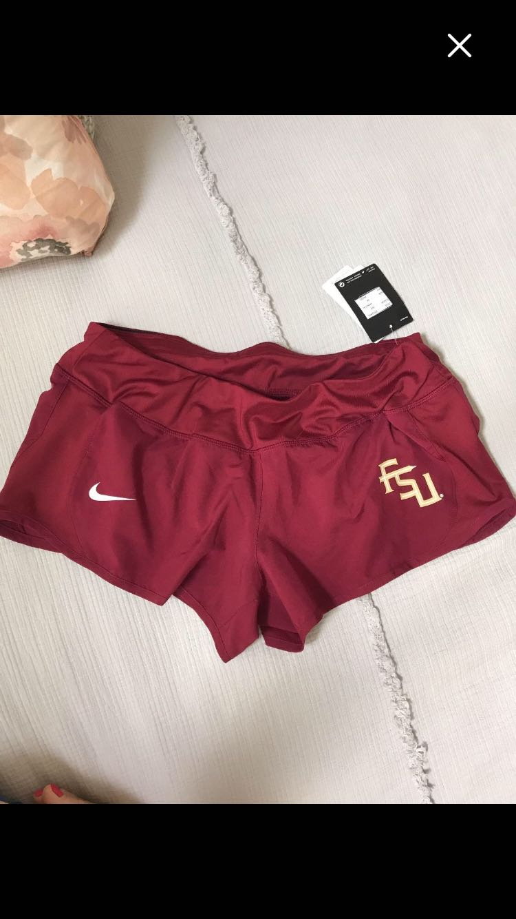 NWT Nike shorts with built in liner. $10. Medium.